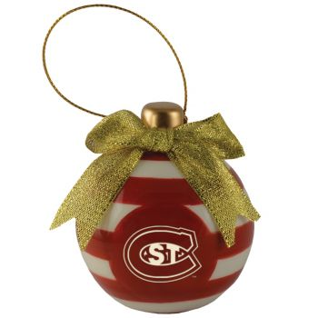 St. Cloud State University -Christmas Bulb Ornament