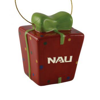 Northern Arizona University -3D Ceramic Gift Box Ornament