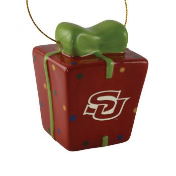 Southern University-3D Ceramic Gift Box Ornament