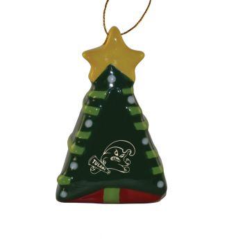 Tulane University -Christmas Tree Ornament