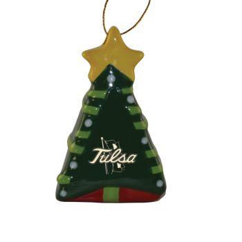 University of Tulsa-Christmas Tree Ornament