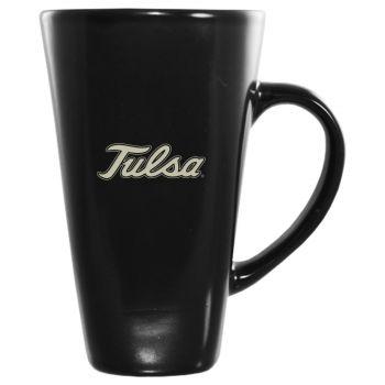 16 oz Square Ceramic Coffee Mug - Tulsa Golden Hurricanes