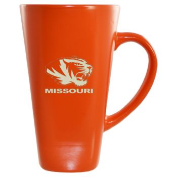 University of Missouri -16 oz. Tall Ceramic Coffee Mug-Orange