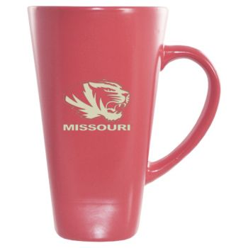 University of Missouri -16 oz. Tall Ceramic Coffee Mug-Pink