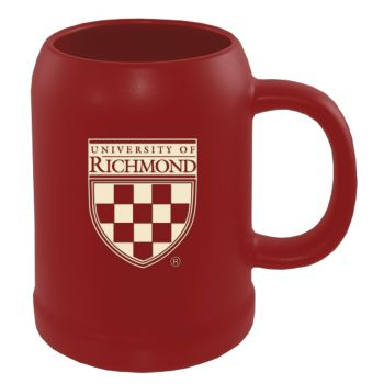 University of Richmond -22 oz. Ceramic Stein Coffee Mug-Red