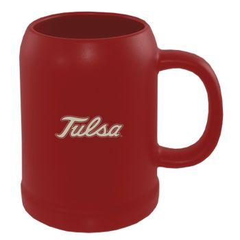 22 oz Ceramic Stein Coffee Mug - Tulsa Golden Hurricanes
