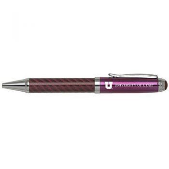 University of Utah-Carbon Fiber Mechanical Pencil-Pink