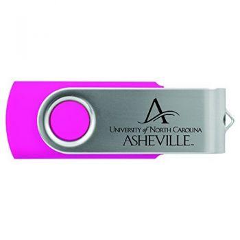 University of North Carolina at Asheville-8GB 2.0 USB Flash Drive-Pink