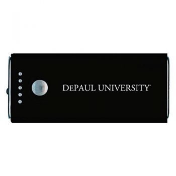 DePaul University -Portable Cell Phone 5200 mAh Power Bank Charger -Black