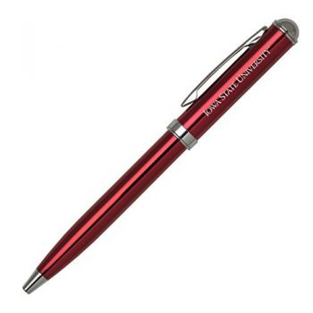 Iowa State University - Click-Action Gel pen - Red