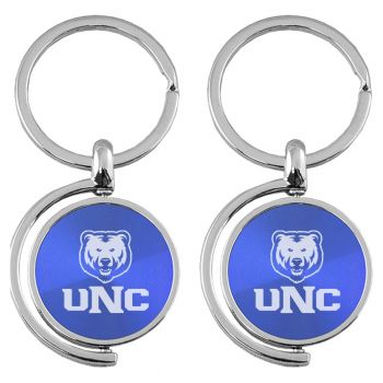 University of Northern Colorado - Spinner Key Tag - Blue