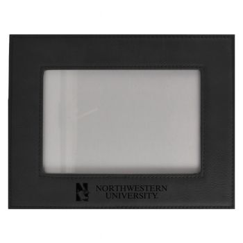 Northwestern University-Velour Picture Frame 4x6-Black