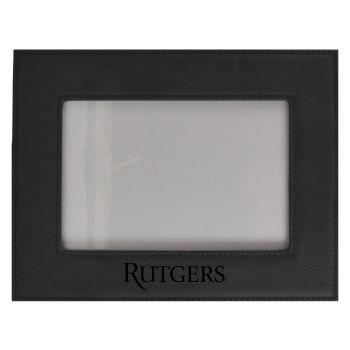 Rutgers University-Velour Picture Frame 4x6-Black