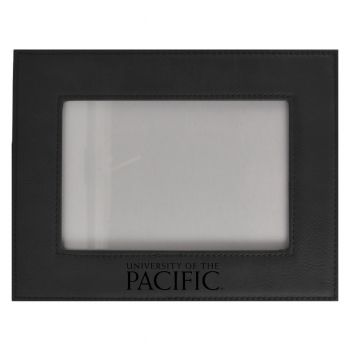 University of The Pacific-Velour Picture Frame 4x6-Black