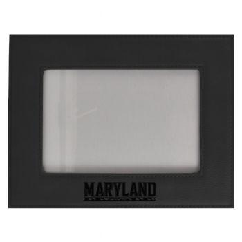 University of Maryland-Velour Picture Frame 4x6-Black