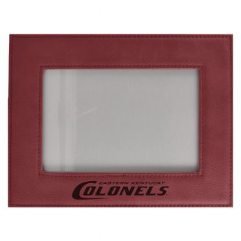 Eastern Kentucky University-Velour Picture Frame 4x6-Burgundy