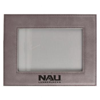 Northern Arizona University-Velour Picture Frame 4x6-Grey