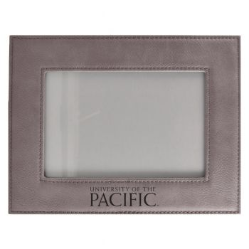 University of The Pacific-Velour Picture Frame 4x6-Grey