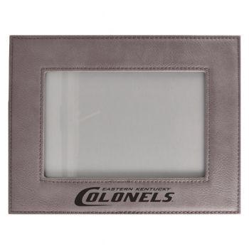 Eastern Kentucky University-Velour Picture Frame 4x6-Grey