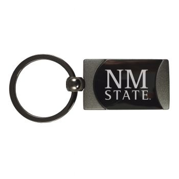 New Mexico State-Two-Toned Gun Metal Key Tag-Gunmetal