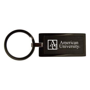 American University-Black Frost Keychain
