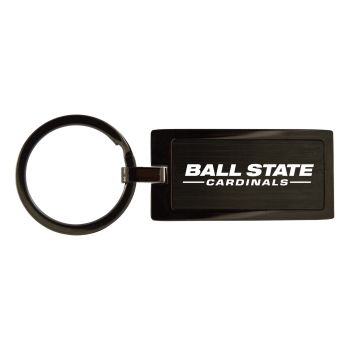 Ball State University-Black Frost Keychain