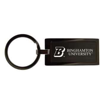 Binghamton University-Black Frost Keychain