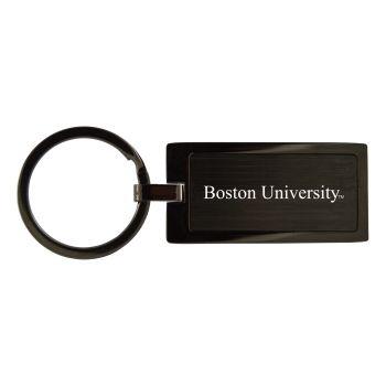 Boston University-Black Frost Keychain