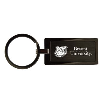 Bryant University-Black Frost Keychain