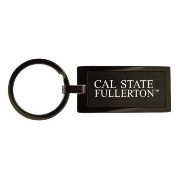 California State Univeristy Fullerton -Black Frost Keychain