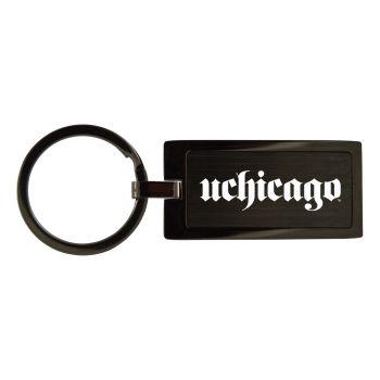 University of Chicago-Black Frost Keychain