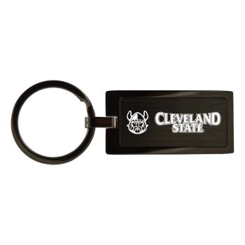 Cleveland State University-Black Frost Keychain