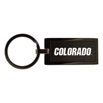 University of Colorado-Black Frost Keychain