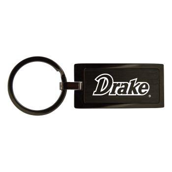 Drexel University-Black Frost Keychain