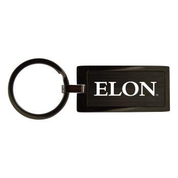 Elon University-Black Frost Keychain