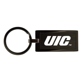 University of Illinois at Chicago-Black Frost Keychain