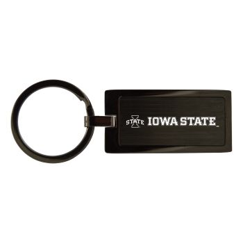 Iowa State University-Black Frost Keychain