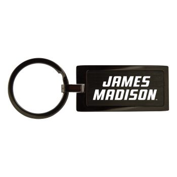 James Madison University-Black Frost Keychain
