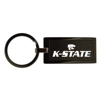 Kansas State University-Black Frost Keychain