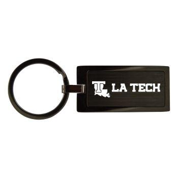 Louisiana Tech University-Black Frost Keychain