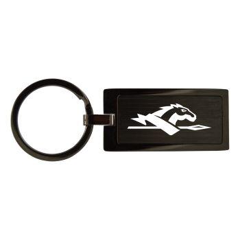 Longwood University-Black Frost Keychain