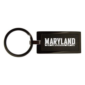 Marshall University -Black Frost Keychain