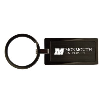 Monmouth University-Black Frost Keychain