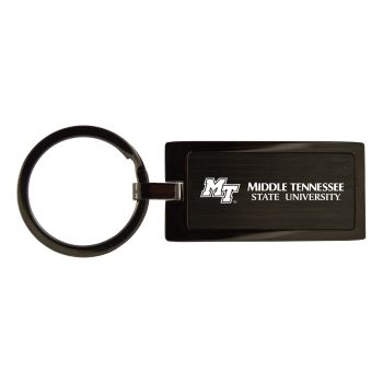 Middle Tennessee State University-Black Frost Keychain