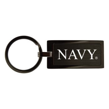 United States Naval Academy-Black Frost Keychain