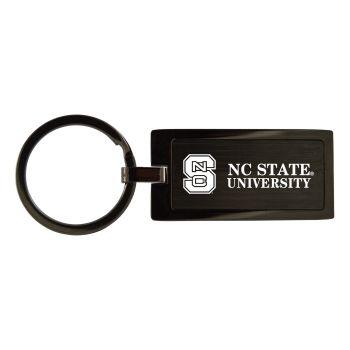 North Carolina State University-Black Frost Keychain