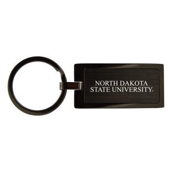 North Dakota State University-Black Frost Keychain