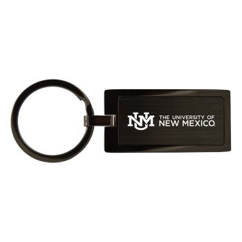 The University of New Mexico-Black Frost Keychain