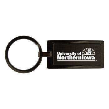 University of Northern Iowa-Black Frost Keychain