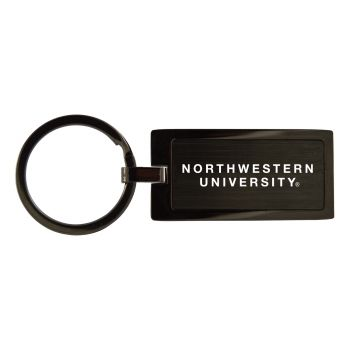 Northwestern University-Black Frost Keychain